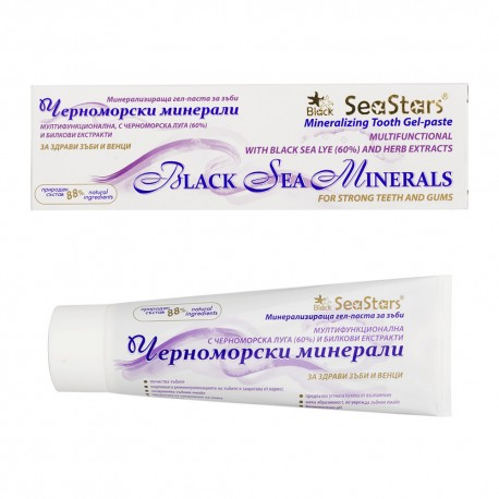 Mineralizing Tooth Gel-paste Black Sea Minerals 75ml